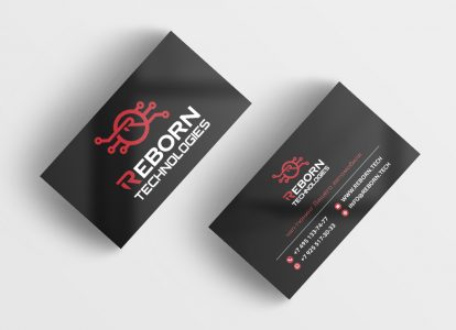 Business Card Reborn Technologies